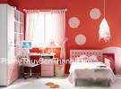 Tường sơn màu đỏ kích hoạt tình duyên