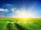 Mặt trời và nguồn năng lượng dương