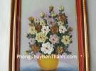 Tranh hoa xếp nhỏ TPC05