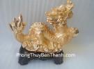 Rồng vàng đế gỗ H325G