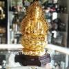 Phật quan âm vàng trung H257G