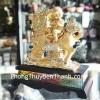 Kỳ lân cưỡi đồng tử vàng H463G