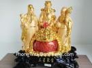 Bộ tam đa vàng nguyên bảo lớn G159A