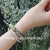 Chuỗi thạch anh tóc xanh Uruguay A+ 16 hạt S6370-4682