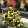 Tượng Phật Di lạc đồng ngồi D265