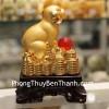 Chó vàng châu đỏ trên tiền H409G