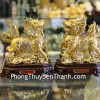 Cặp kỳ lân vàng H458G