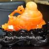 Phật di lạc cam dáng ngồi như ý C129A
