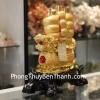 Thuyền buồm rồng vàng trên sóng vàng C186A