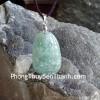 Phật bản mệnh Phỉ Thúy xanh đậm sắc sảo A+ nhỏ tuổi Mùi, Thân S6865-6