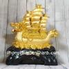 Thuyền buồm đầu rồng chở vàng LN138