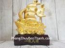 Thuyền buồm vàng chở kim nguyên bảo LN144