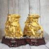 Song đế kỳ lân vàng kim sa Như Ý LN159