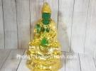 Phật quan âm xanh ngọc trên đài sen LN194
