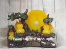 Cây hồ lô năm quả vàng ngọc có trăng vàng LN199