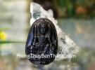 Phật Văn Thù Bồ Tát (tuổi Mão) đá hắc ngà S6844-3