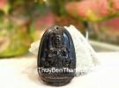 Phật Như Lai Đại Nhật (tuổi Mùi + Thân) đá hắc ngà S6844-6