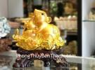 Chuột vàng trên mẫu đơn ôm hồ lô TM002