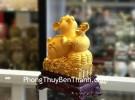 Chuột vàng kim sa ôm hồ lô TM014