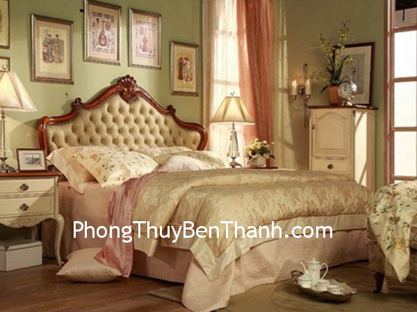 phong ngu Không dùng hai nệm trên một giường