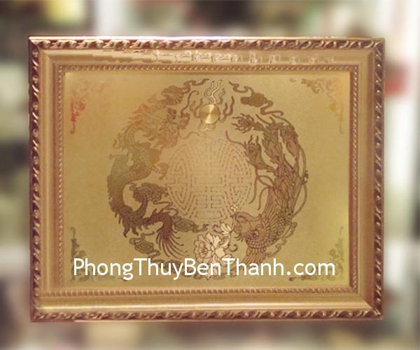 tranh dong long phung Đặt biểu tượng rồng phượng trong phòng ngủ