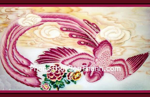 phuong hoang lua Phượng hoàng tượng trưng cho bình an và thịnh vượng