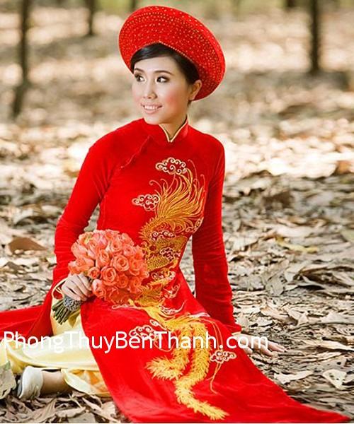 ao cuoi do 1 Cô dâu nên mặc áo cưới màu đỏ