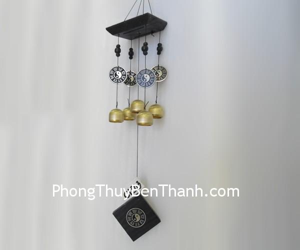 chuong gio C1203 Chuông gió đồng,giúp lưu chuyển các khí,trừ tà khí C1203