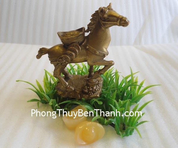 ngua cong dinh vang d1123 2 Ngựa đồng cõng đỉnh vàng,hoạch tài phát lộc,giúp mọi sự thành công D1123