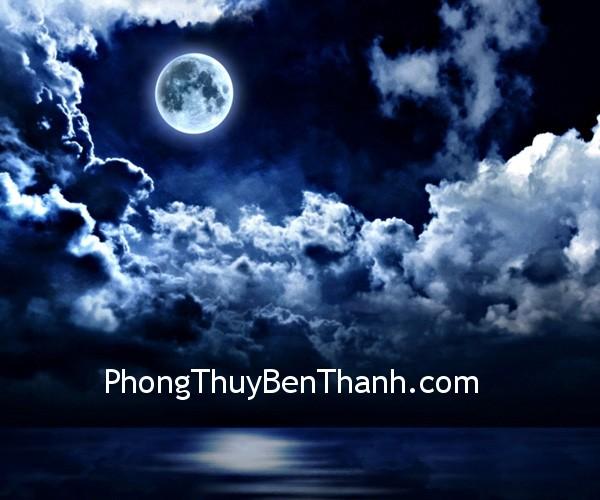 mat trang Mặt trăng và nguồn năng lượng âm