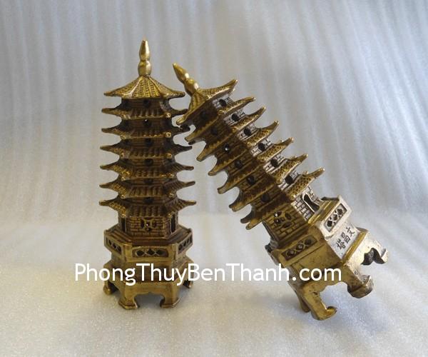 thap dong 7 tang nho g212 1 Tháp đồng 7 tầng nhỏ,giúp thi cử tốt,tăng sự nghiệp G212