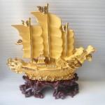 K095M thuyen vang 1 150x150 Thuyền rồng sa kim lớn K095M