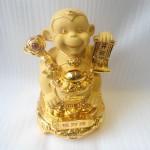 k101m chieu tai hau 150x150 Khỉ thần tài như ý vàng K101M