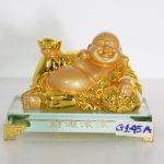 g145a di lac vang tai nguyen cuon cuon 150x150 Phật di lạc cầm nén vàng lớn G145A