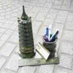 gm068 thap van xuong 9t 150x150 Tháp Văn Xương Lam Ngọc 9 tầng đựng bút GM068