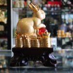 h424g tho vang 2 150x150 Thỏ vàng bên châu đỏ H424G