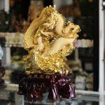 k151m long phung 2 150x150 Rồng phụng vàng sa kim lớn K151M