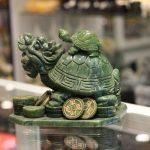 gm028 long quy cong con lam ngoc 150x150 Rùa đầu rồng cõng con GM028