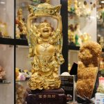 h237g phat di lac nen vang 150x150 Phật di lặc ôm đỉnh vàng H237G