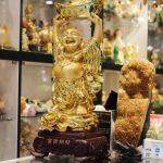h237g phat di lac nen vang 2 150x150 Phật di lặc ôm đỉnh vàng H237G