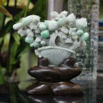 ns174 tuong hoa mau don ngoc phi thuy 38 1 150x150 Giỏ hoa mẫu đơn phỉ thúy NS174