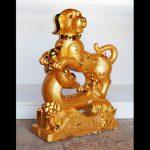 c001a cho vang lon 1 150x150 Chó vàng khủng trên gậy như ý C001A
