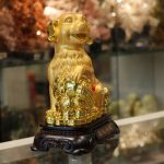 c018a cho vang 2 150x150 Chó vàng dựa như ý đế gỗ C018A