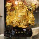 c133a di lac quay ganh 150x150 Phật di lạc gánh như ý C133A