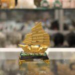c190a thuyen cho vang nho 150x150 Thuyền vàng bạch kim đế thủy tinh C190A