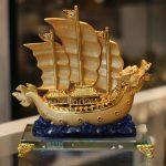c191a thuyen buom rong de thuy tinh 1 150x150 Thuyền buồm rồng sóng xanh C191A