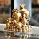 D293 gia dinh chuot 150x150 Hoàng gia ngũ tí trên tiền vàng D293