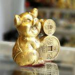 D298 heo om tien 1 150x150 Vua heo ôm tiền vàng chiêu tài D298