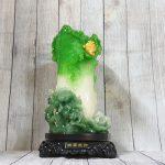 ln069 bap cai xanh dung lon 1 150x150 Bắp cải xanh đứng lớn trên bụi mẫu đơn đế gỗ xoay LN069