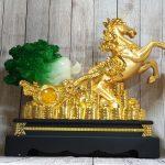 ln120 ngua vang keo cai 1 150x150 Thần ngựa vàng khủng kéo xe bắp cải xanh LN120